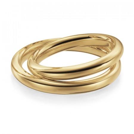 7f13829b Gifteringer. Lykkeringene - Gult gull, 3mm